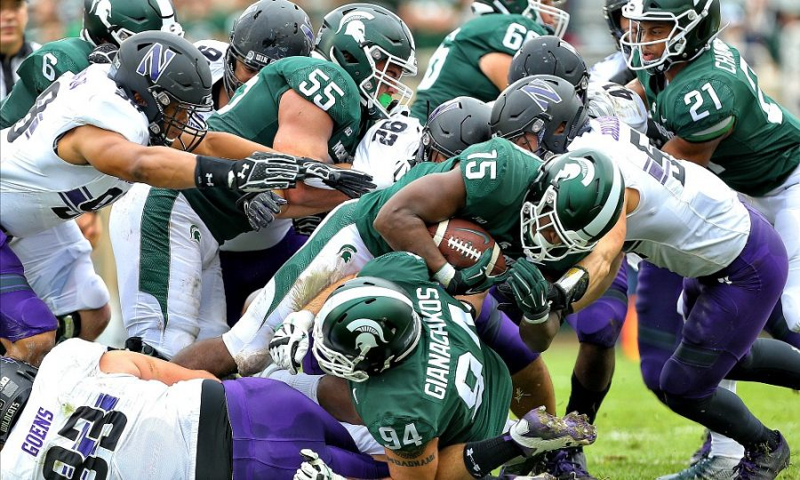 MICHIGAN STATE VS NORTHWESTERN – SATURDAY SEPTEMBER 21ST