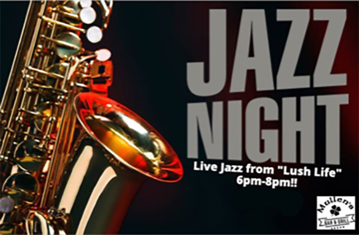 "THURSDAY, FEBRUARY 27TH – LIVE JAZZ FROM ""LUSH LIFE"""